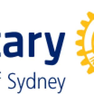 Addressing the CBD Rotary Club