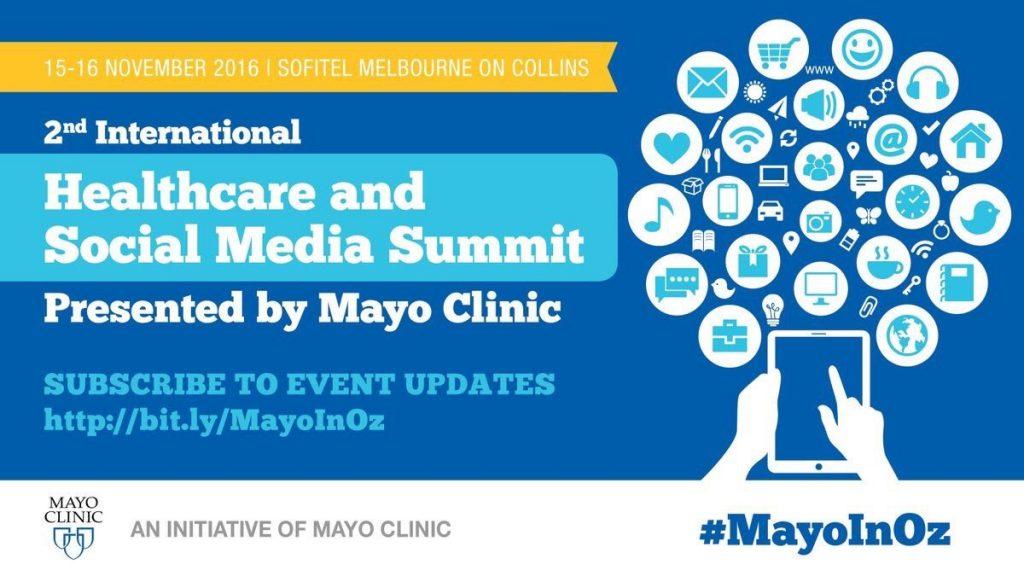 Mayo Clinic Social Media Summit @ Sofitel Melbourne | Melbourne | Victoria | Australia