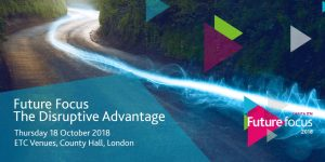 The Disruptive Advantage - Opening Keynote @ LondonETC Venues County Hall | England | United Kingdom