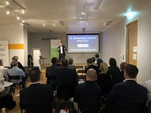 Onguard - AI, Blockchain and Fintech - what does it all mean? @ Runway East Mooregate | England | United Kingdom