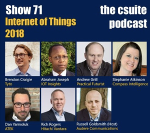 Csuite Podcast on IoT
