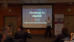 Pivoting to Digital - Atradius Collections 2019 kickoff @ Prague