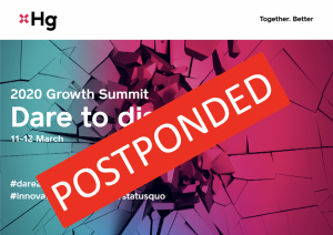 Postponed: Dare to Disrupt: HG Capital Growth Day @ Shoreditch Town Hall | England | United Kingdom