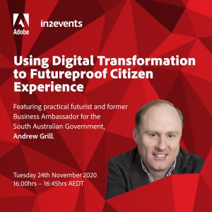 Adobe - Using Digital Transformation to Futureproof Citizen Experience @ Online