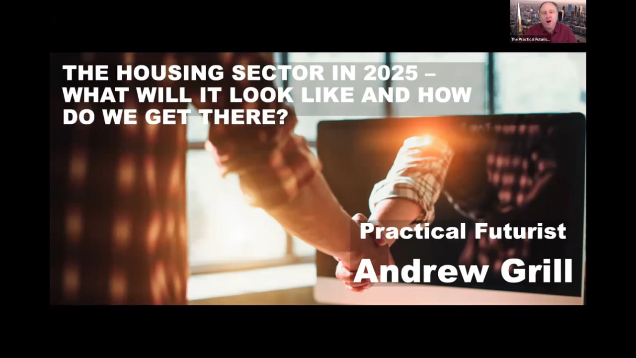 The Housing Sector in 2025 – what will it look like and how do we get there?